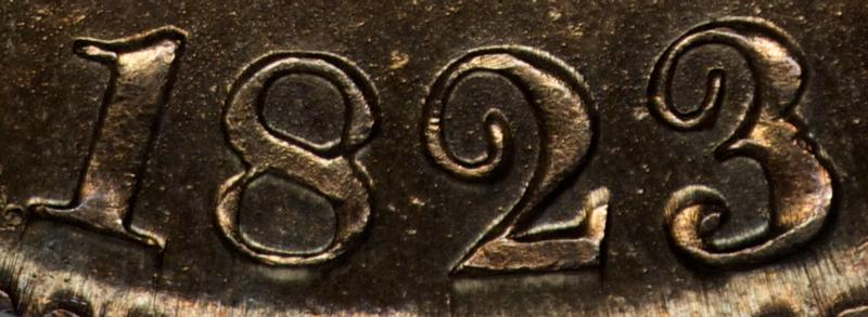 1823, Date, Tampered 3, O-106