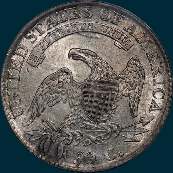 1813, O-108,  Capped Bust, Half Dollar