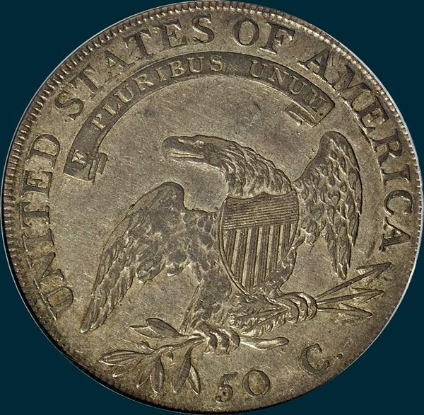 1807, O-111, Capped Bust, Half dollar