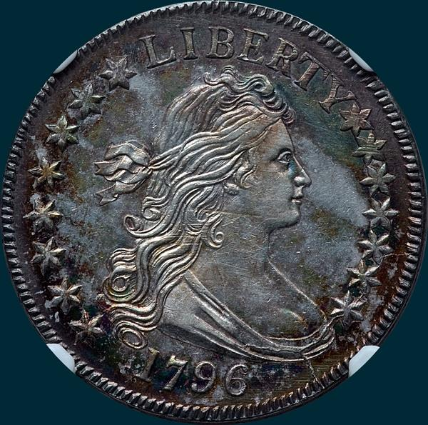 1796, O-101, R5, Draped Bust, Half Dollar