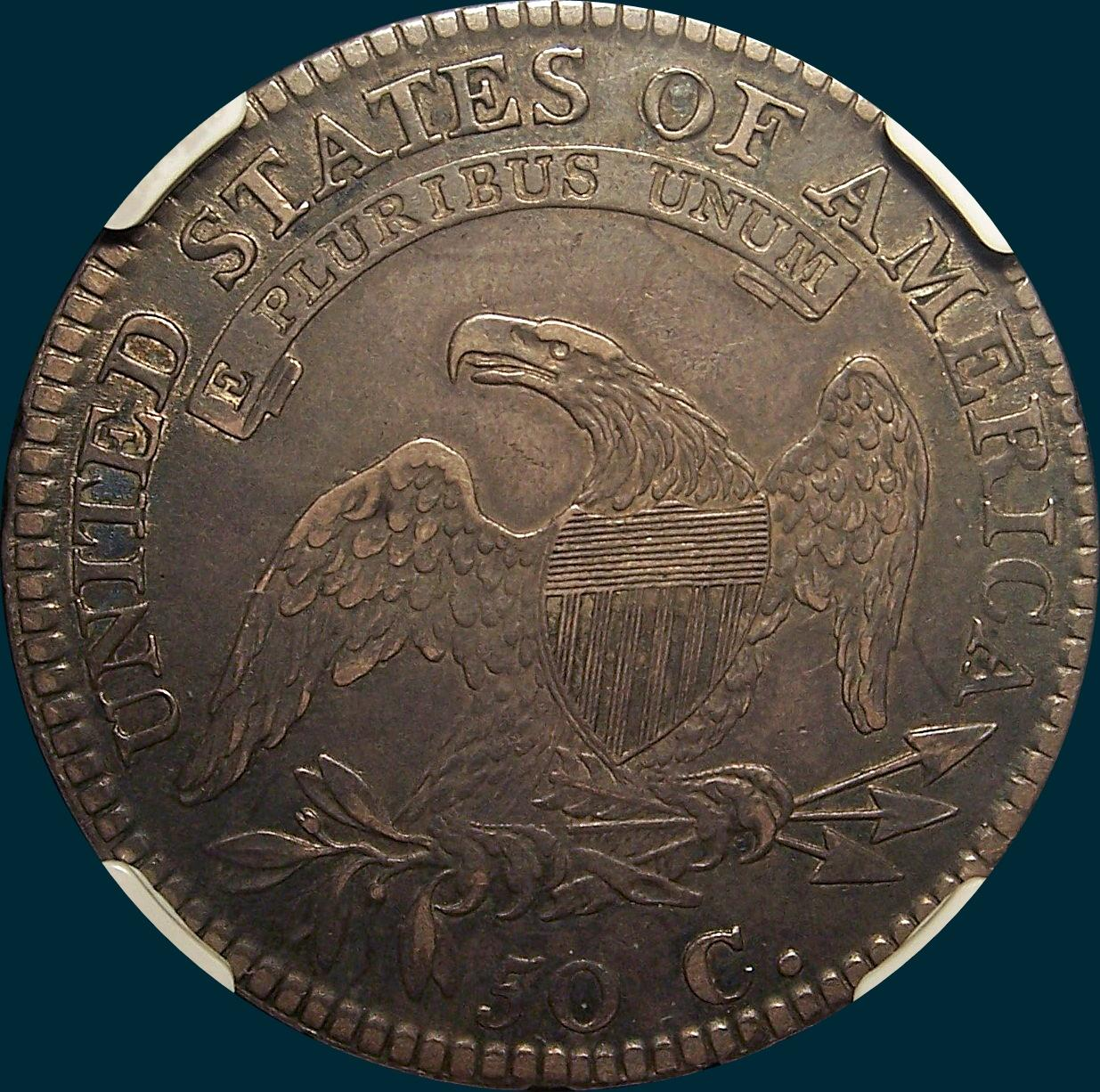 1812 O-103, Capped Bust Half Dollar