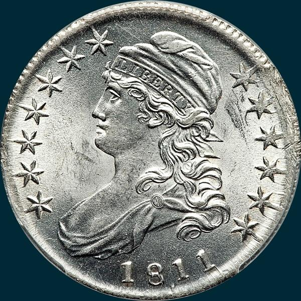 1811/10 O-102, Capped bust, half dollar