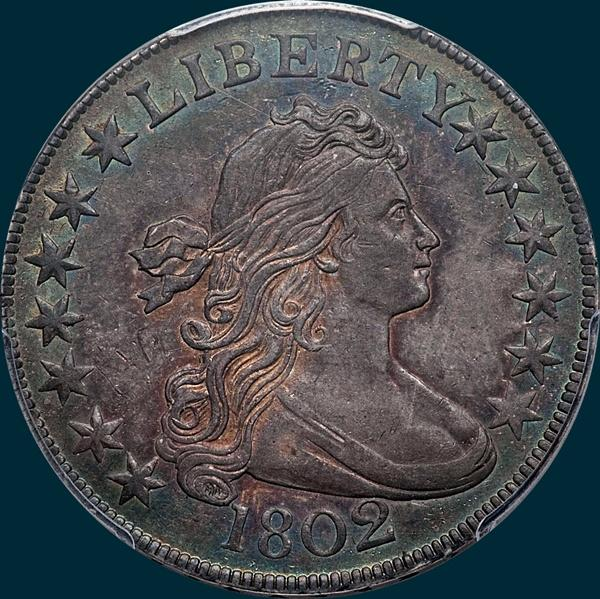 1802, O-101, R3, Draped Bust, Half Dollar