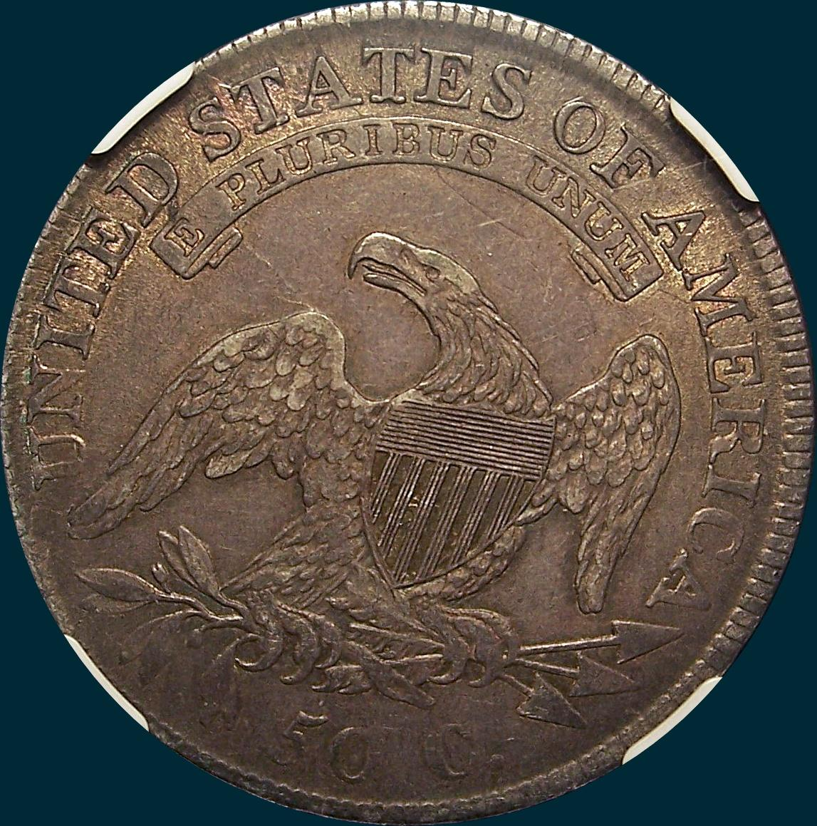 1810, O-109, Capped Bust, Half Dollar