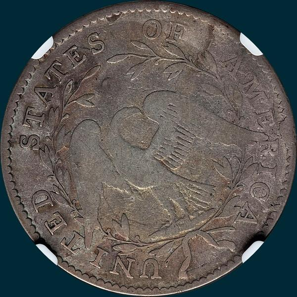 1794, O-104a, Flowing Hair, Half Dollar