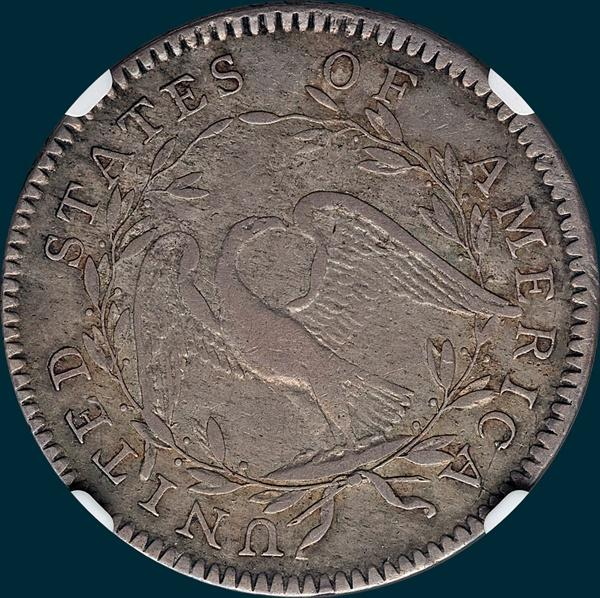 1794, O-105, Flowing Hair, Half Dollar
