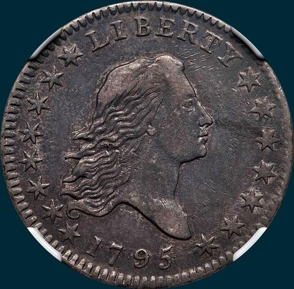 1795, O-103,  Flowing Hair, Half Dollar