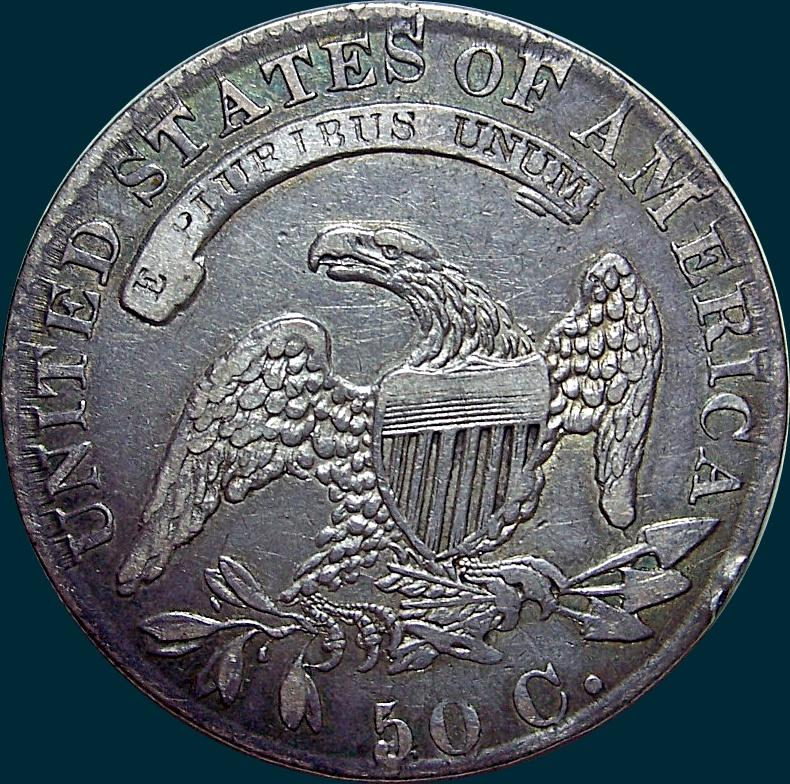 1832, O-102a, Small Letters, Capped Bust, Half Dollar