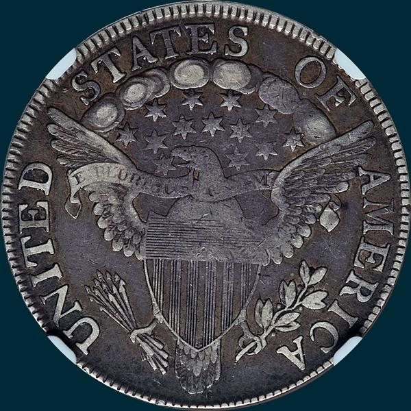 1807, O-104, Draped Bust, Half Dollar