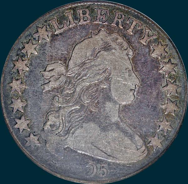 1805, O-112a, R6?, Draped Bust, Half Dollar