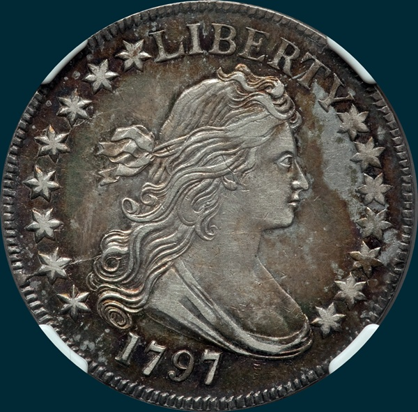 1797, O-102, R6-, Draped Bust, Half Dollar